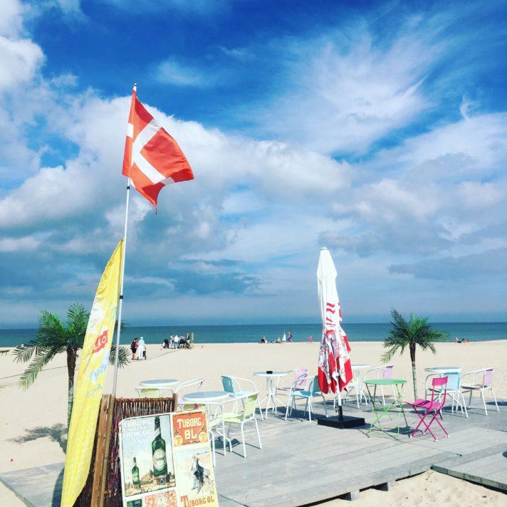 Hornbaek Beach, North Sealand - The Danish Riviera, Denmark. Prettiest beach in denmark