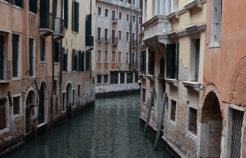 Venice, also know as the Birmingham of Italy (because of it's canals!)