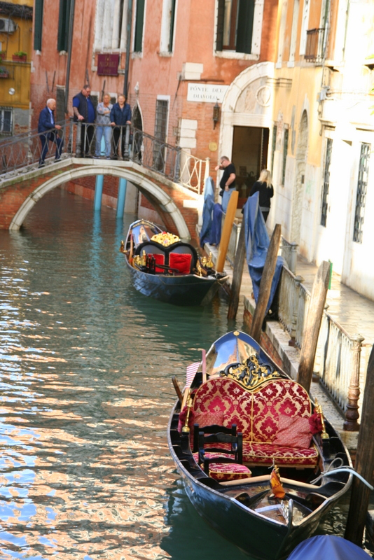Castello canals of Venice