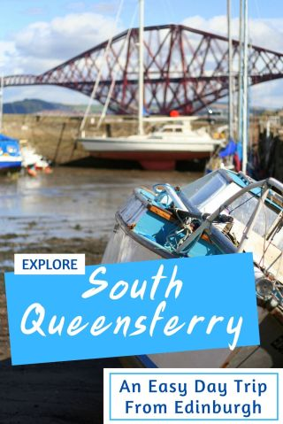 South Queensferry - a day trip from Edinburgh and a really cute place to visit in Scotland #Southqueensferry #edinburgh #scotland