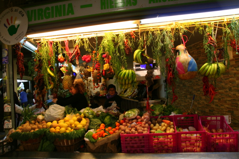 Alicante market - one place you must see on your visit to the city, give yourself a self guided walking tour of Alicante