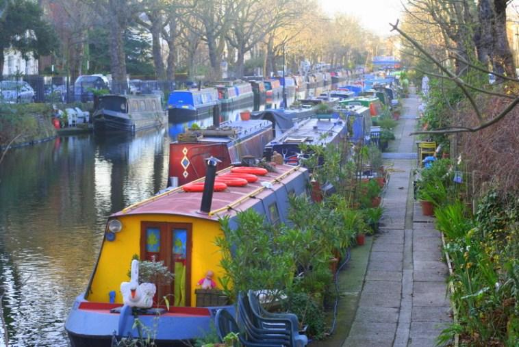 little venice on Regents Canal in London - Best walk for kids