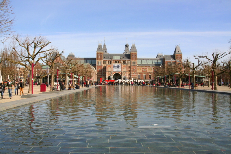 No trip to Amsterdam is complete without a visit to the IAmsterdam sign outside of the Rijksmuseum - the largest museum in Amsterdam