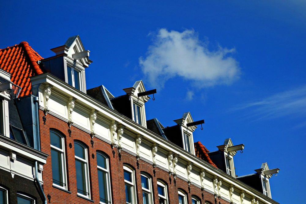 Look out for the hooks on the houses in AMsterdam - used for lifting cargo from the canal boats