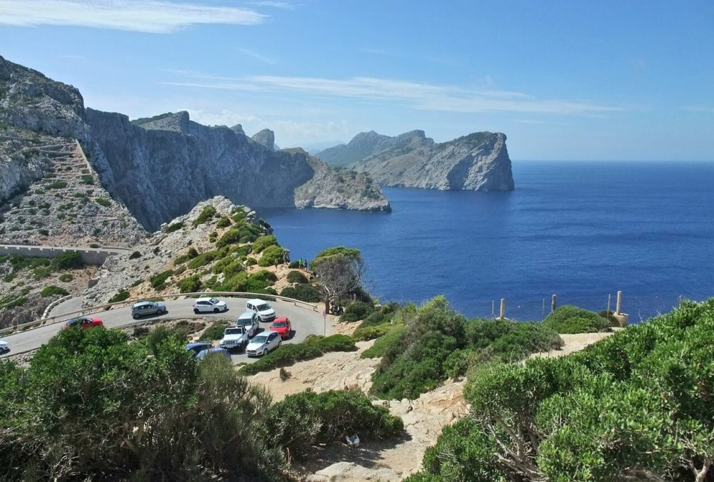 The winding road to Cap de Formentor