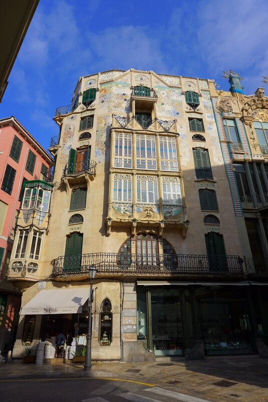 Cappuccino Colon is the best place to go for breakfast in Palma - a beautiful ornate building with amazing pastries