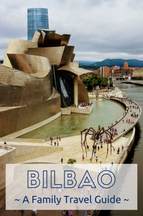 Discover the city of Bilbao with the kids : A two day itinerary of all the best bits, places of interest, tourist attractions, where to stay and where to eat. A full weekend guide for a trip with kids! #Bilbao #familytravel #Guggenheim