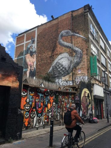history of Brick Lane and Spitalfields
