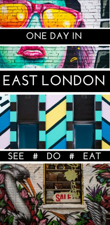 East London has some great areas, like Shoreditch, Brick Lane and Spitalfields. Spend a day in the east end, exploring a ton of hidden gems and some of the best markets, food and street art in all of London - a definite bucket list for your London itinerary. #London #Spitalfields #Bricklane #Shoreditch #guide