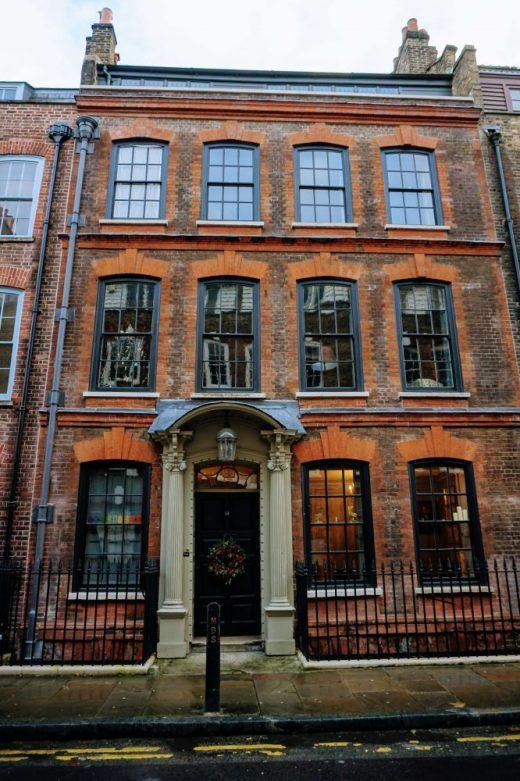 a huguenot house in Spitalfields