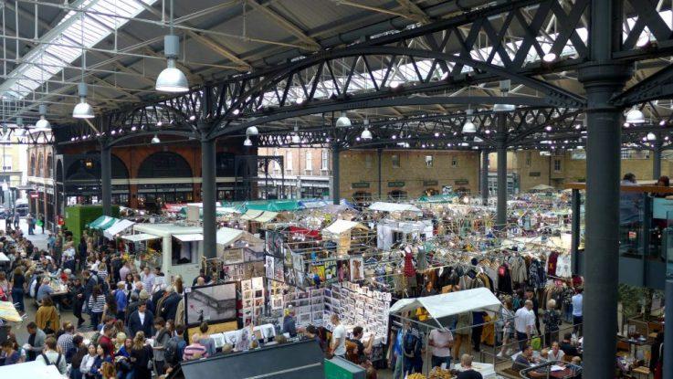Spitalfields market, London