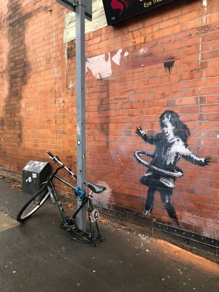 where in the Banksy in Nottingham - and other hidden gems