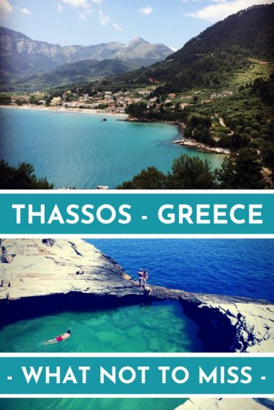 Thassos is possibly the prettiest Greek island there is, flooding in hostory, beautiful beaches and plenty of things to see and do. Read my guide for the top 7 things you must not miss on your visit to Thassos. #Thassos #Greece #Greekisland #paradiseisland