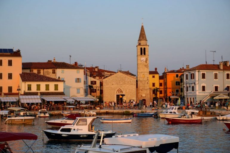 Fazana is one of the top towns to visit in Istria Croatia