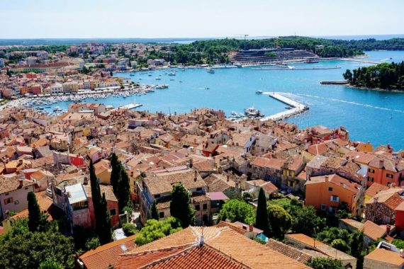 Places to visit Istria with good views