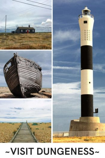 Dungeness has to be the most interesting place on the Kent coastline. The UK's only desert, Dungeness, is weird and wonderful and definitely somewhere you should consider visiting if you are in Kent. Read our guide on what there is to see, do and eat in Dungeness... #Dungeness #Kent #Southengland #ukcoast #weirdplaces