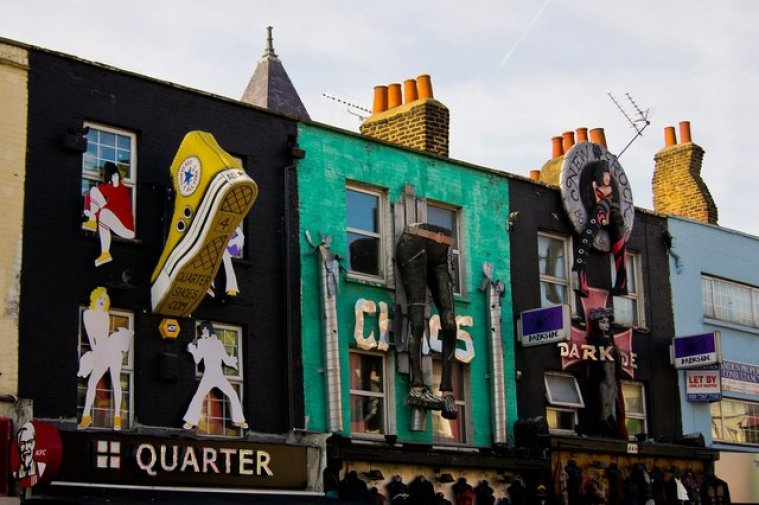 Camden town is one of the best neighbourhoods to visit in London and great for celeb spotting, including on nearby Primrose Hill