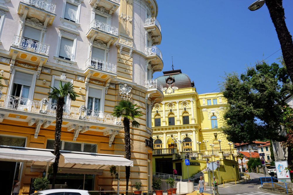 See the sights in Opatija, do some shopping along the high street