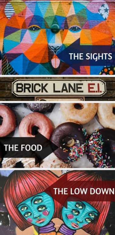 Brick Lane and Spitalfields  are near Shoreditch in East London and have some great things to see, do and eat! Spend a day in the east end, exploring a ton of hidden gems and some of the best markets, food and street art in all of London - a definite bucket list for your London itinerary. #London #Spitalfields #Bricklane #Shoreditch #guide