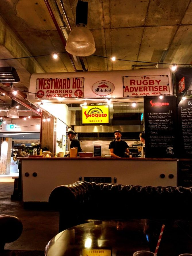 Notts street food - places to eat Nottingham