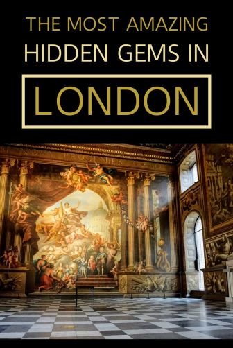 We've compiled a great list of London hidden gems and secret places - London attractions you don't want to miss, even though everybody else has ;) #London #hiddengems