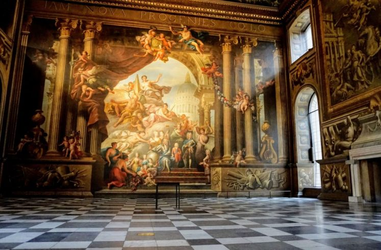 the painted hall should be on everybody's best things to see in london list