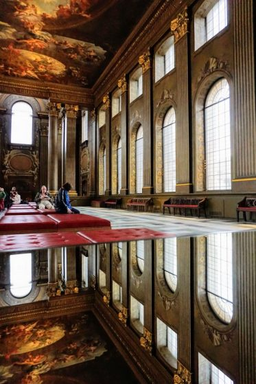 do not miss the painted hall when you visit Greenwich in London