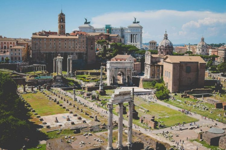 How to see Rome in a day - start at the roman forum
