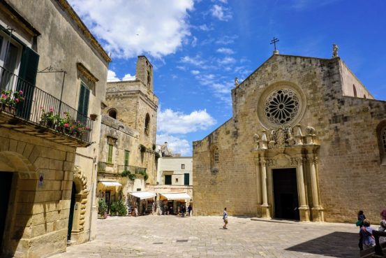 highlights of otranto : the cathedral and altar of skulls