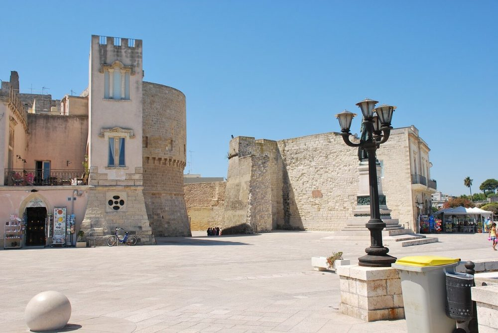 what to see in otranto - the castle is the main tourist attraction