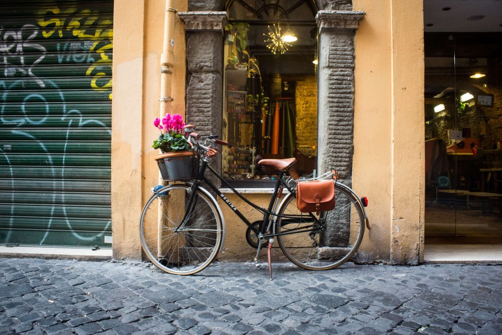 via dei coronari - the prettiest street in rome