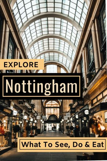 A Nottingham City Guide - Things to see, do and eat in this historical English city. #Nottingham #England