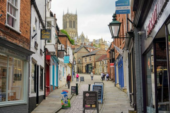 one of the best places to see in lincoln is Steep Hill