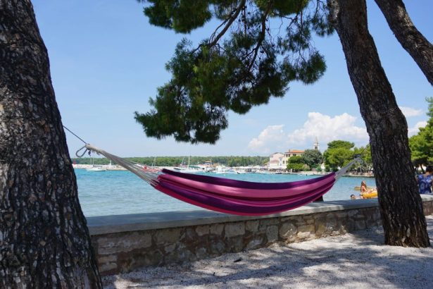 best beaches in istria - fazana