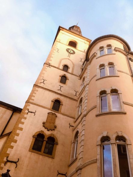 haute ville architecture in Luxembourg for one day
