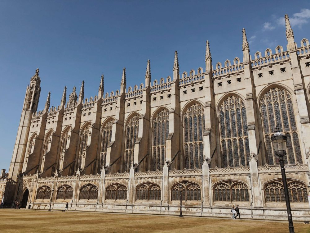 a visit to cambridge - Kings College chapel