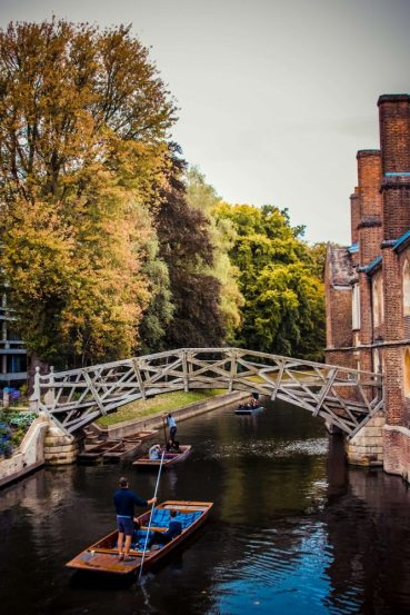 mathematical bridge cambridge day trip