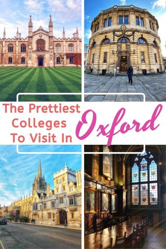 Which colleges in Oxford are worth a visit? We've visited them all and selected the best ones. #Oxford #England