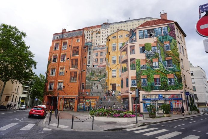 murals in Lyon, France