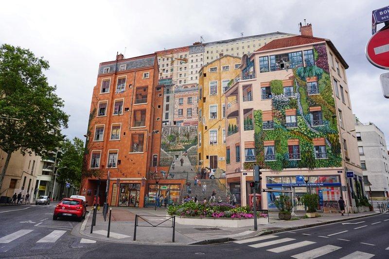 murals in Lyon, France