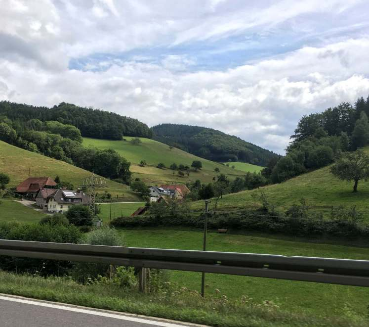 best driving route in the black forest Germany
