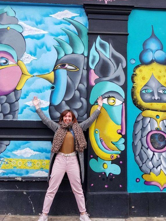 free street art tour london