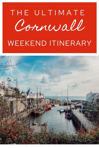 A weekend road trip Cornwall itinerary including all of the best places to visit for that true Cornish experience. Great ideas to make the most of your short break in Cornwall, England. #Cornwall #England #weekend #roadtrip