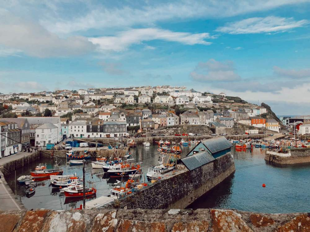 Mevagissey harbour - the perfect place to visit on your Cornwall weekend breaks