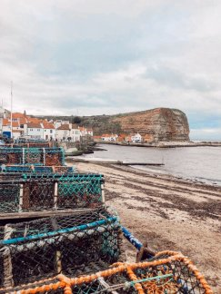 the yorkshire coastline has a few little gems that the outside world doesn't seem to have discovered yet. Staithes is one of them.