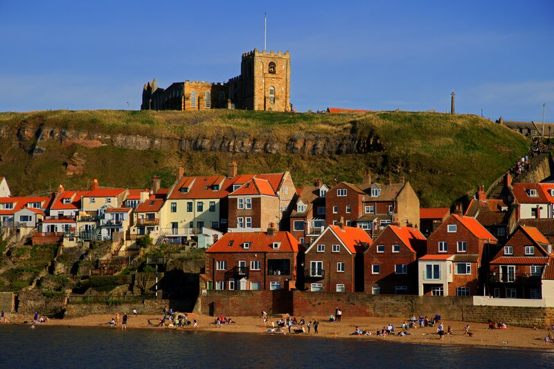 Whitby - a jewel on the North Yorkshire coast. Known for its connections with Dracula and sea-faring past.