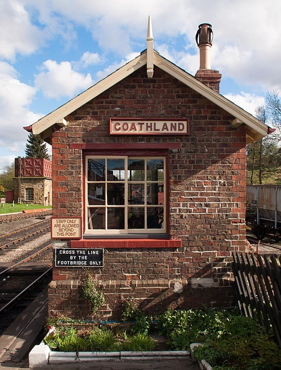 Harry Potter location in North Yorkshire - the steam railway at Goathland