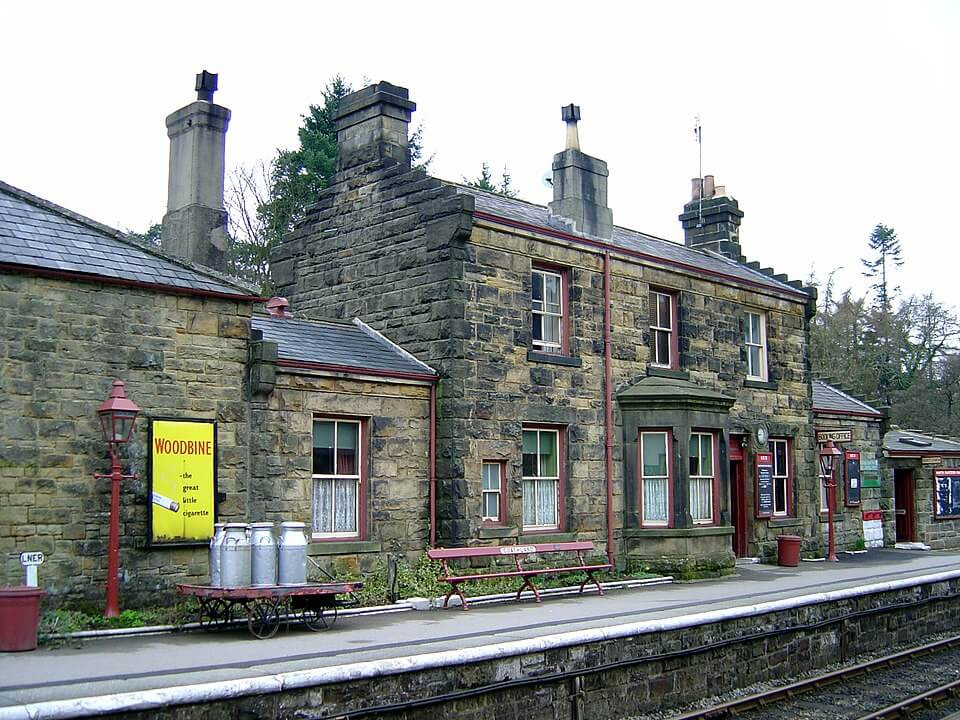 Things to do in North Yorkshire - visit Goathland steam railway