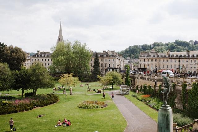 Parage Gardens in Bath, England