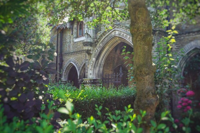 Holly Village - London gothis architecture at its greatest. Highgate England
